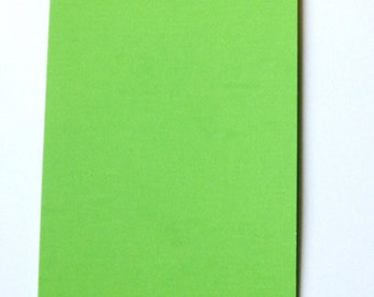 "5 Heavy Duty Small Green Tags-DIY (2-3/4"" x 1-3/8"")"