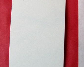 "10 Heavy Duty Small White Tags-DIY (2-3/4"" x 1-3/8"")"