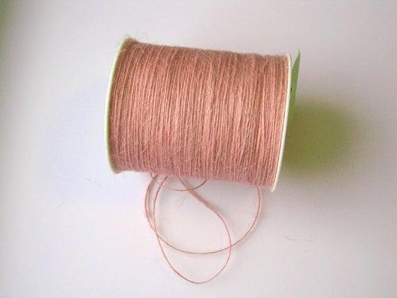 50 Yards of 1mm Pink Jute Twine