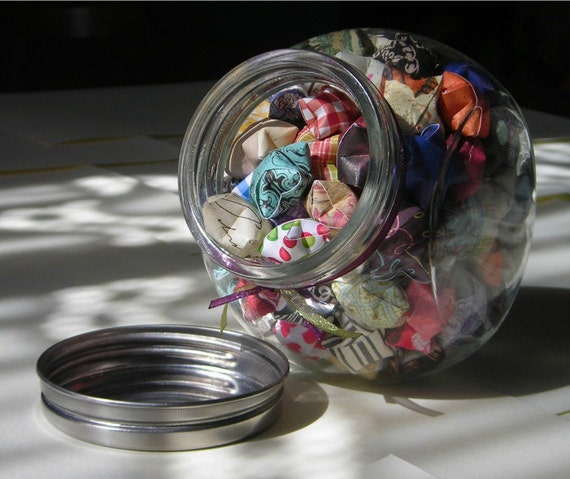 Children's Stars - Glass Jar of Affirmation Stars for Kids