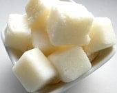 Sugar Scrub Cubes Body Exfoliating Shea Butter Vanilla Cream
