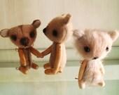 4 inch Miniature Artist Bear - Gigi