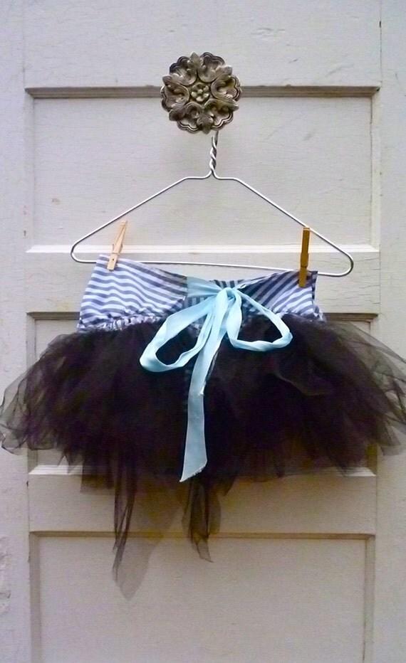 TRIAL Tutu skirt-Adult skirt-Adult clothing-Sexy Burlesque Skirt-Black tulle fabric/ Summer Skirt/ Circus clothing/Steam punk