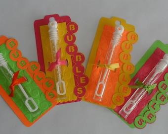 Bubble Favors Bubbles Cinco de Mayo Favors Fiesta Birthday Favors Bubble Wand Favors Party Favors Birthday Favors Cumpleaños Cinco de Mayo