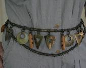 Vintage 1960's Chain Belt