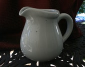 Light Blue Pitcher Vase Ceramic Pottery