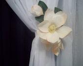 Curtain Tieback - The Majestic Magnolia -