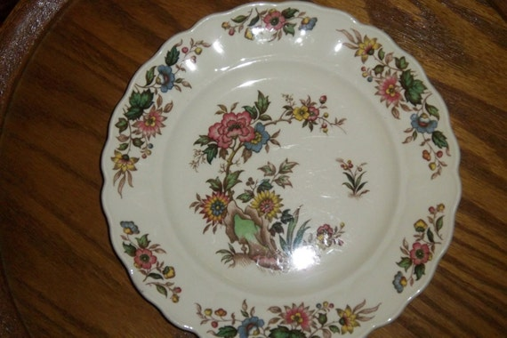 Antique Floral Plate by Grindley of England