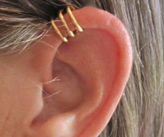 no piercing s or unisex cartilage ear cuff