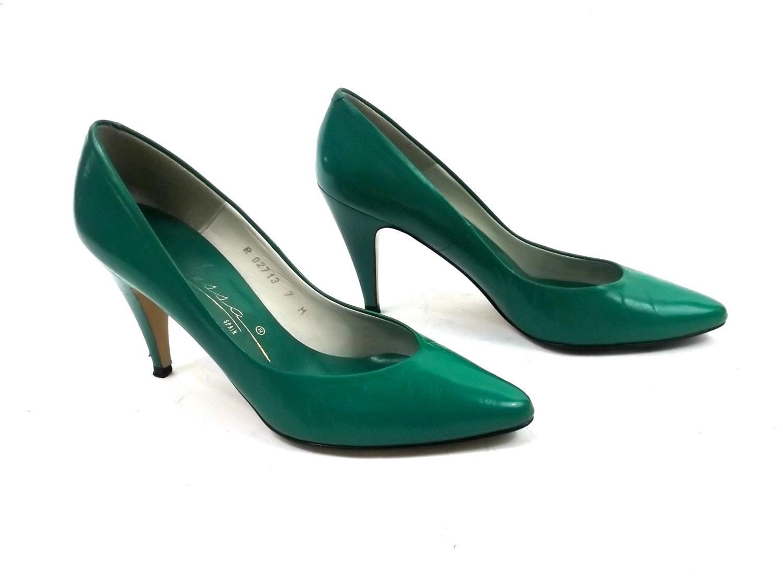 Emerald Shoes Heels