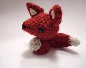 Tiny amigurumi fox