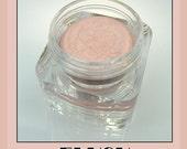 FLUSH COLORPOTS Cream Eyeshadow in crease resistant, sweat resistant lightest pink sparkly cream eyeshadow