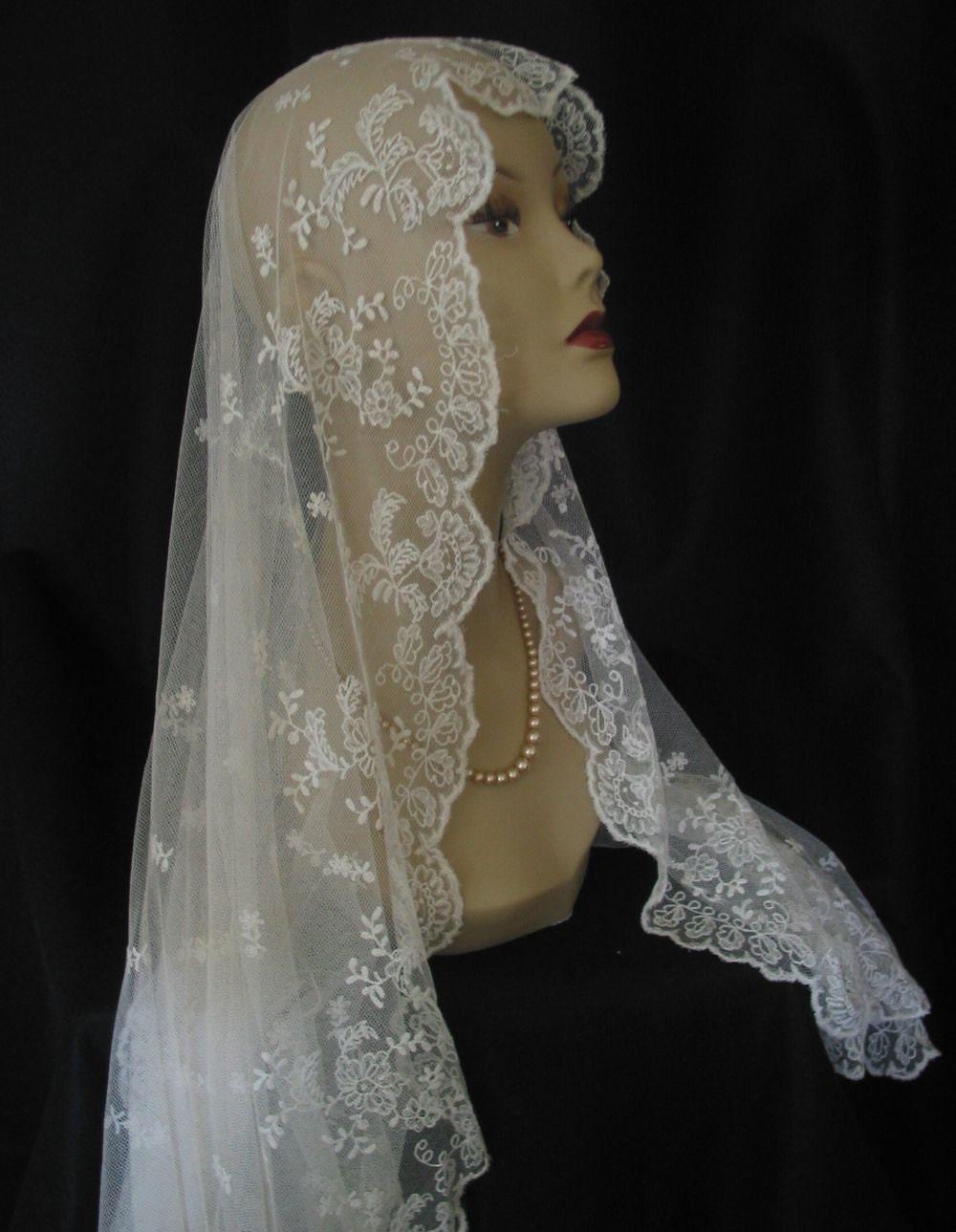 Vintage Lace Veils 108