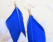 Arrow Fletching Earrings - Handmade by Ginny&Harriot