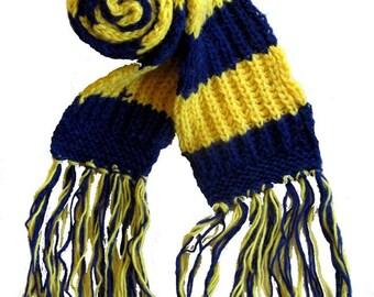 Michigan Wolverines  Knit Scarf