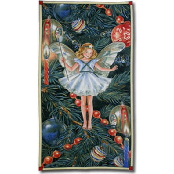 fabric panel CHRISTMAS TREE FAIRY from Michael Miller