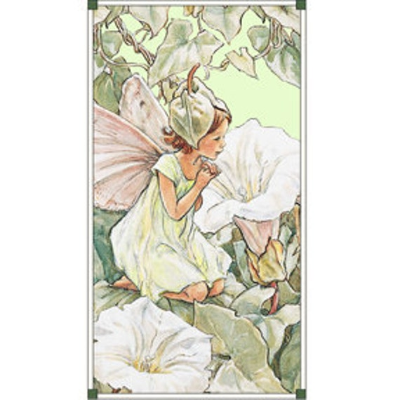 fabric panel APPLE MORNING Flower Fairy Fairies from Michael Miller- last one