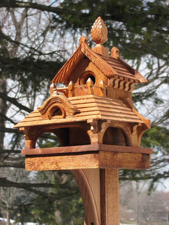 Items Similar To Hand Made One Of A Kind Birdhouse On Etsy