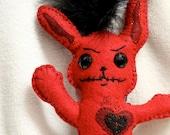 Red Voodoo Wishing Bunny