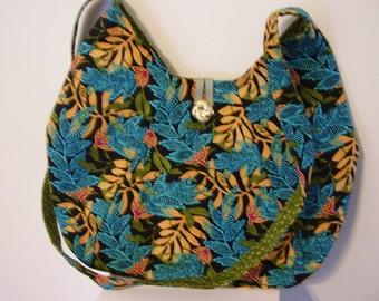Leafy shoulder bag - P03