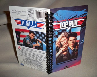 Top Gun VHS Notebook