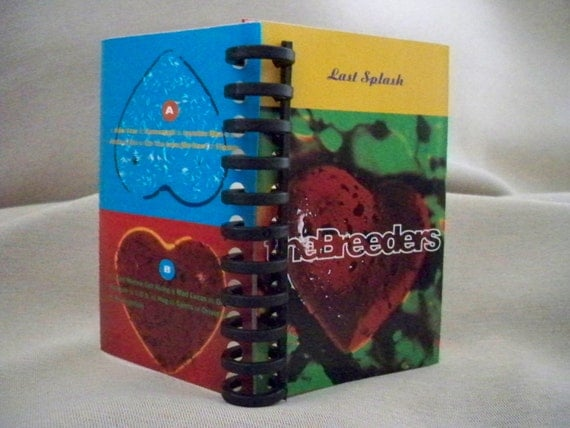 Breeders Last Splash Cassette Insert Mini Notebook