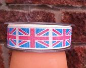 Union Jack Ribbon - 25mm - Price per Metre
