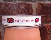 Best Of British Ribbon - 15mm - Price per Metre