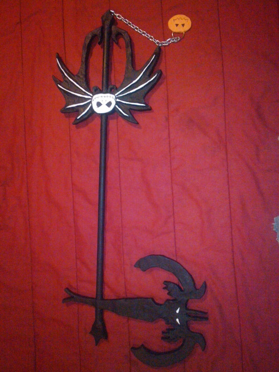 Nightmare Before Christmas Keyblade by mousemystictherge on Etsy