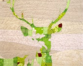 Green Stag Quilt