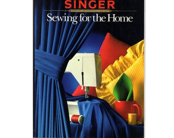 SALE Singer Reference Library Book-- Sewing for the Home-1988 Paperback