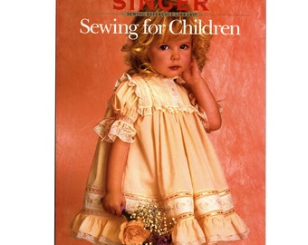 SALE 1988 Singer Sewing For Children from the Singer Reference Library Paperback