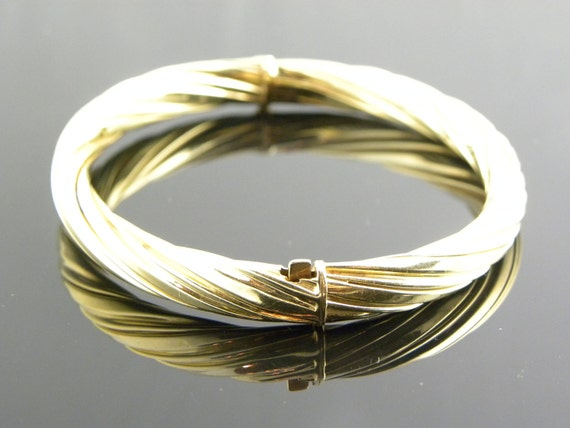 RESERVED ****** 14kt Solid Gold Bracelet/Bangle(12.6gms) *******RESERVED