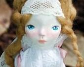 Della Cloth and Clay Art Doll Handmade Paperclay