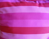 """Free Shipping  on Two Striped Pink Accent Pillows Coupon Code for Free Shipping """"JHJTEXTILES"""""""