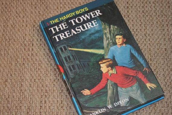 Vintage Hardy Boys 1959 The Tower Treasure