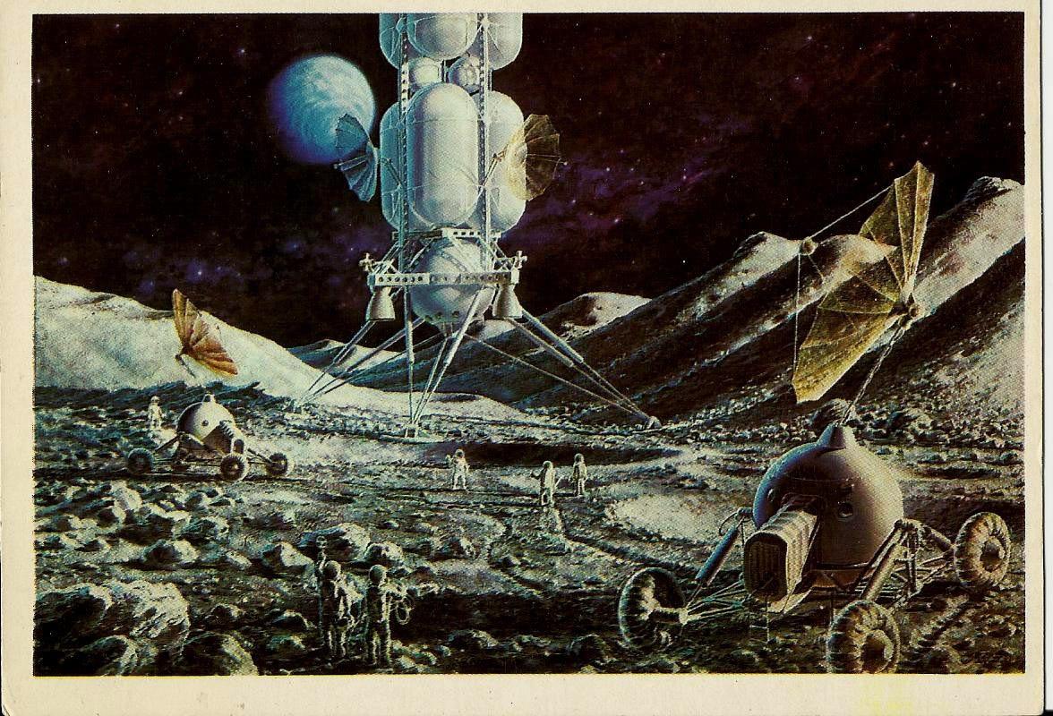 Art Space Artist A. Sokolov Vintage Russian USSR