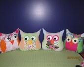 Make your own Custom Owl Pillow Friend