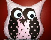 Rosie the Owl snuggle buddy pillow