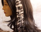 Animal Print Hair Extension 18in.