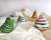 Set of 12 Vintage Christmas Ornaments