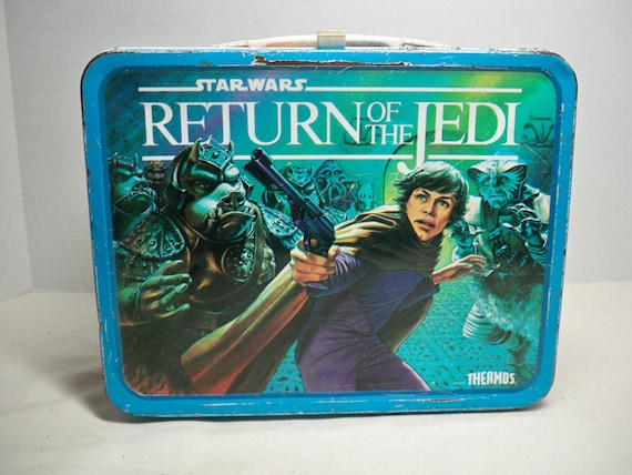 Vintage Return of the Jedi Lunch Box