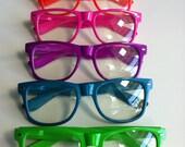 Rave light show glasses - neon