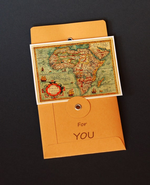 Personalised gift card