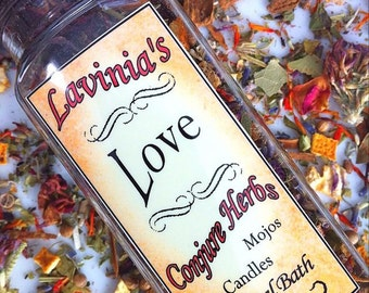 Love Herb Blend for Spells- Candle Dressing-  Mojo bag- Bath- Sweep-Hoodoo-Spiritual-Wicca-Witchcraft-Pagan-Folk Magic