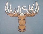 SALE - Phish Alaska lot tee shirt - silkscreened original artwork  - Trey, Ph, hippie, 420, lsd