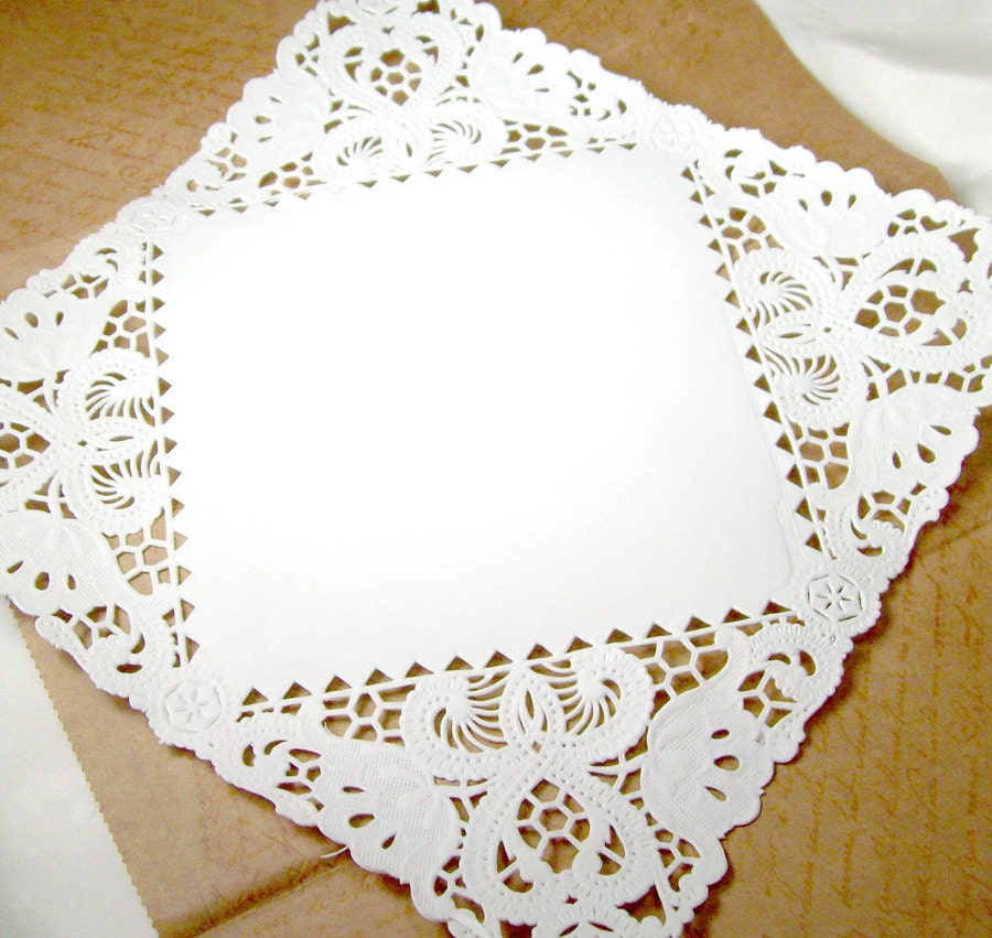 25 White Bathroom Ideas Design Pictures: Square Paper Doilies 25 Doilies 8 Inch White