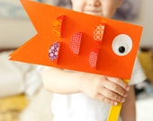 Kids Craft Kit, Japanese Children's Day Carp, Koi Nobori, flag, toddler, kids, craft, kit, mess free, birthday, party, favors, preschool