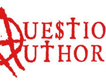 Question Authority t shirt : Occupy Wallstreet 99 % from Benjamin Franklin to Timothy Leary to NOW Free US Shipping