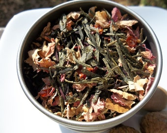 Sakura Cherry Blossom Green Tea From DC with Love
